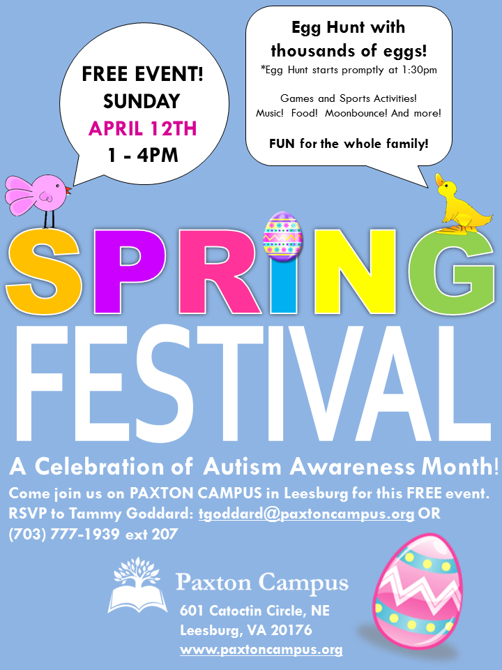 Spring Festival at Paxton Campus