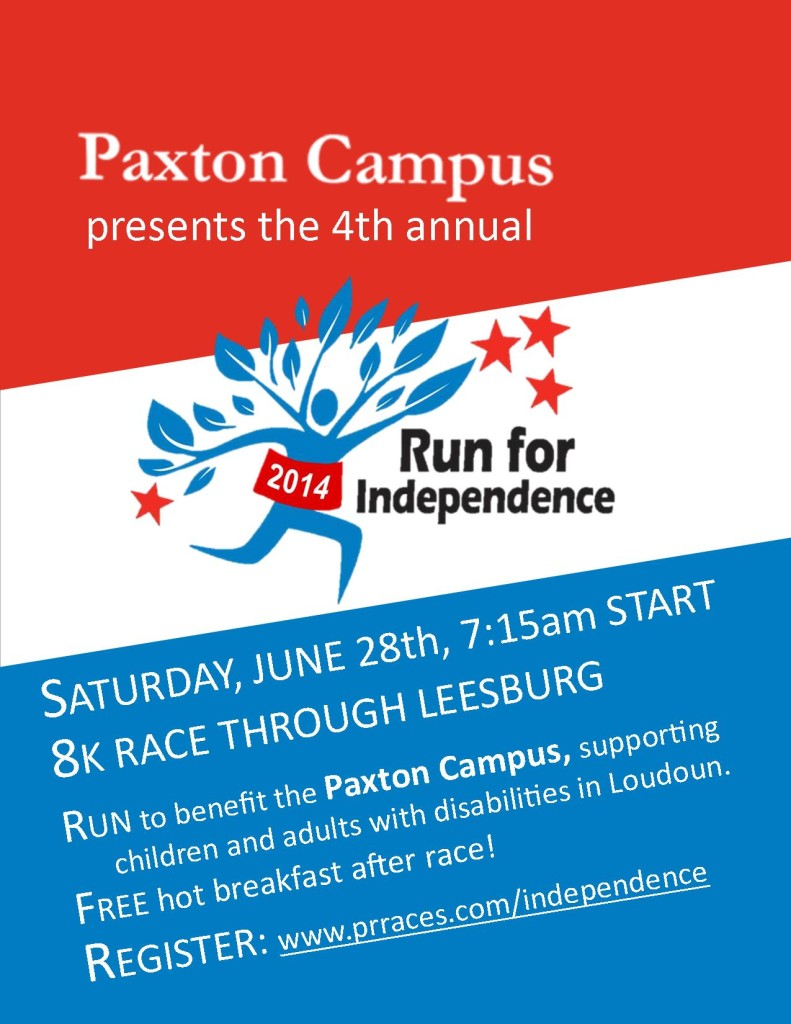 Run for Independence 2014 flyer 2