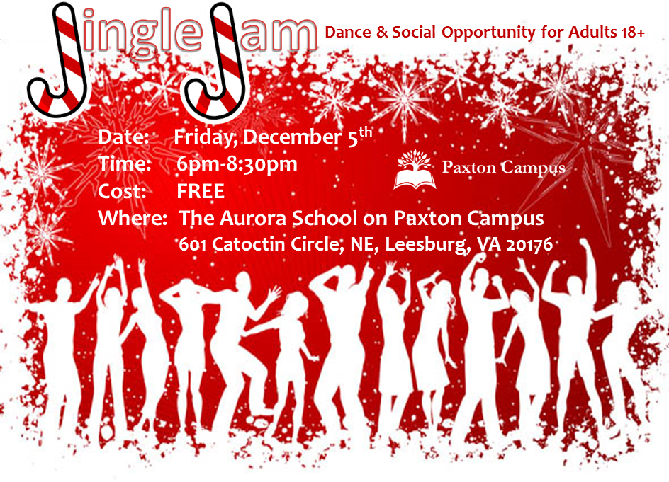Jingle Jam Adult Dance and Social Opportunity