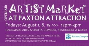 Artist market flyer