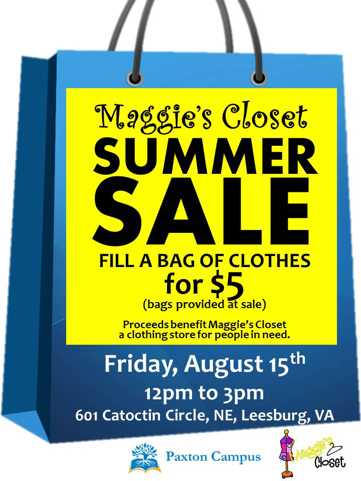 maggies summer sidewalk sale