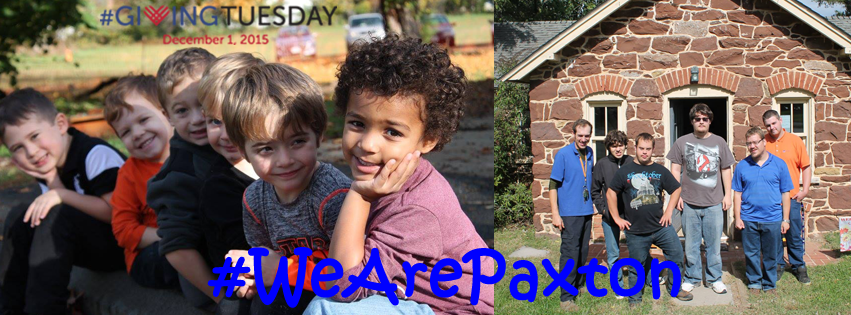 #GivingTuesday #WeArePaxton