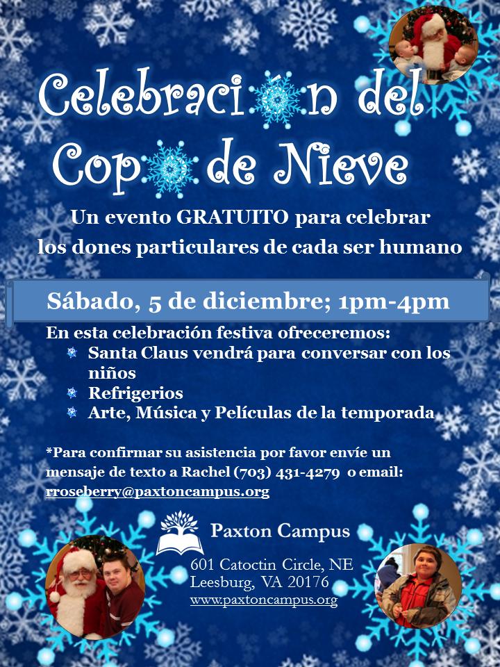 Celebracion del Copo de Nieve 2015 en espanol
