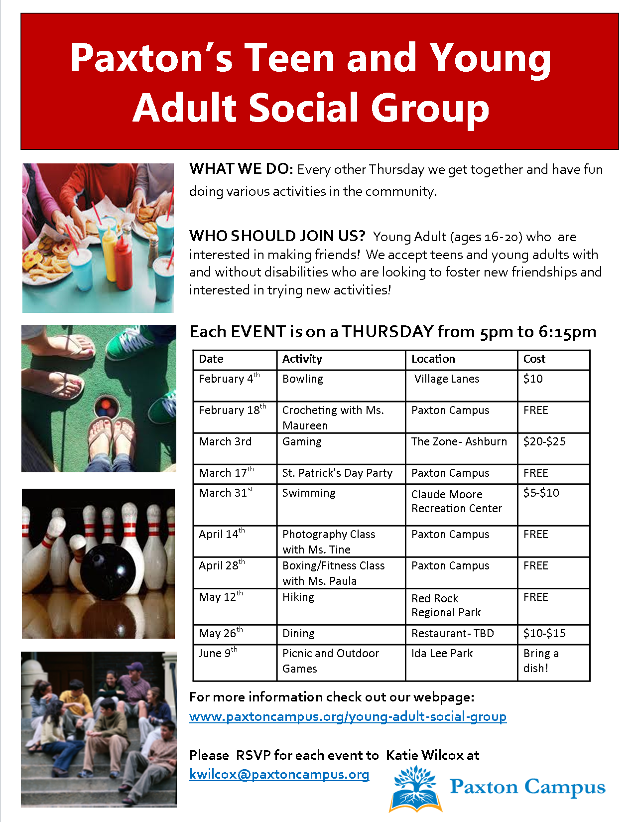 activity adult group in washington young