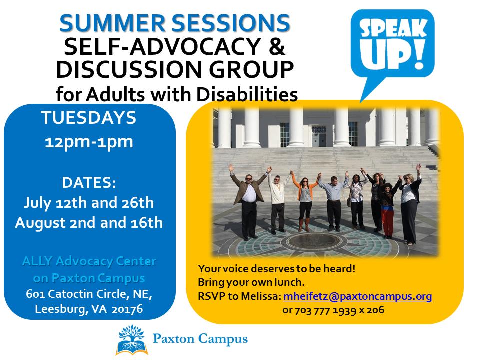 Speak Up Summer 2016